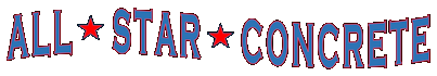 All Star Concrete Logo