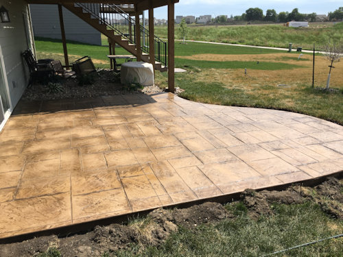 commercial concrete residential flatwork by All Star Concrete
